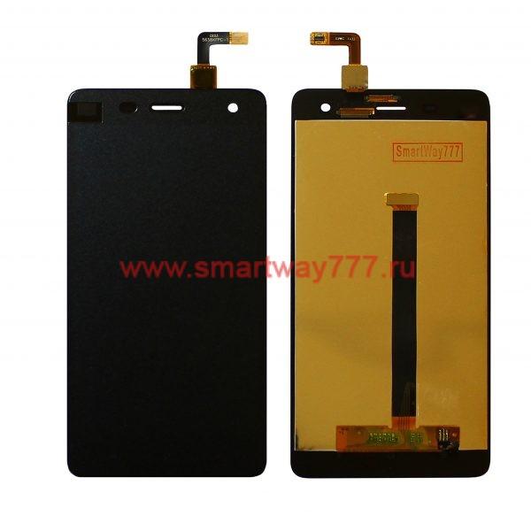 Дисплей для Xiaomi Mi 4 с тачскрином Черный