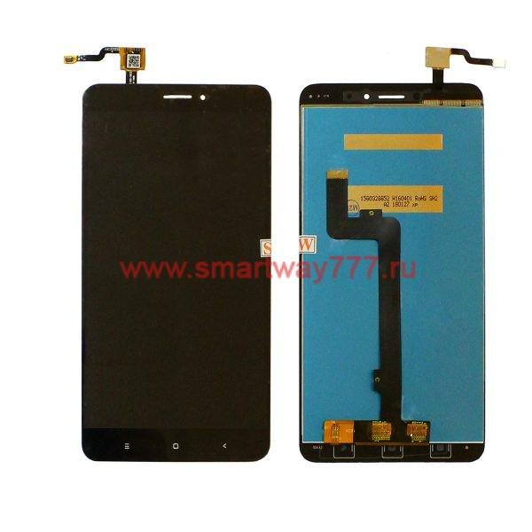 Дисплей для Xiaomi Mi Max 2 в сборе с тачскрином Черный