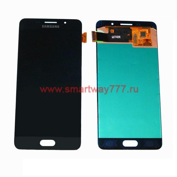 Дисплей для Samsung A5 (2016) / A510F Черный (100% ОРИГИНАЛ сервис)