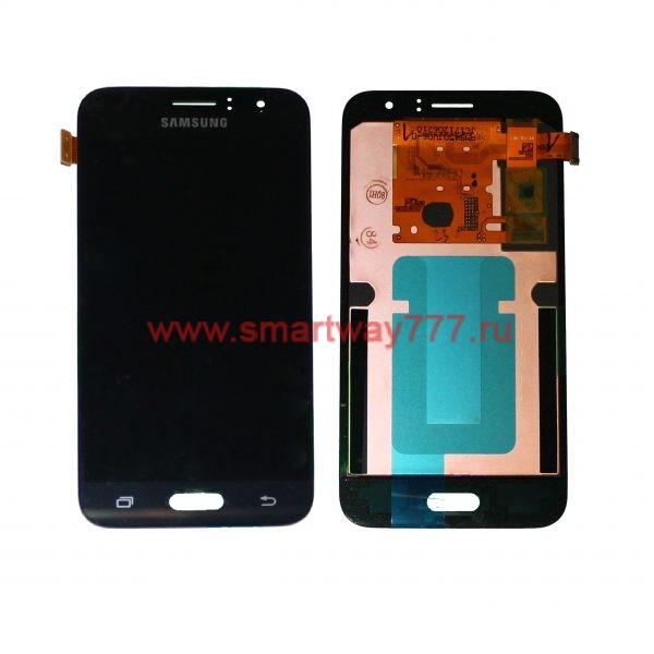 Дисплей для Samsung J1 (2016) / J120 Черный (100% ОРИГИНАЛ сервис)