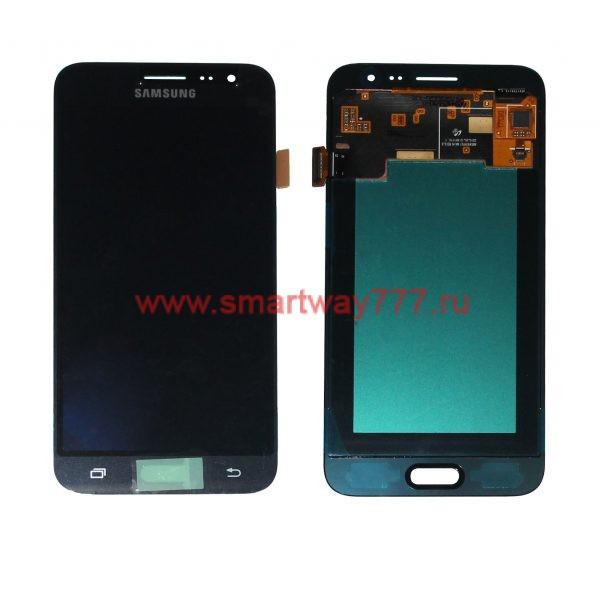 Дисплей для Samsung J3 (2016) / J320 Черный (100% ОРИГИНАЛ сервис)