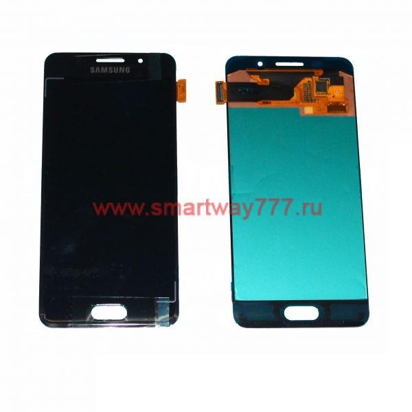 Дисплей Samsung A3 (2016) / A310F Черный (100% ОРИГИНАЛ сервис)