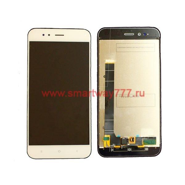 Дисплей для Xiaomi Mi A1 / Mi 5X с тачскрином Белый