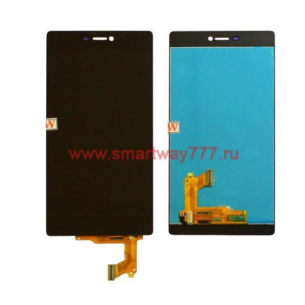 Дисплей для Huawei P8 с тачскрином Черный