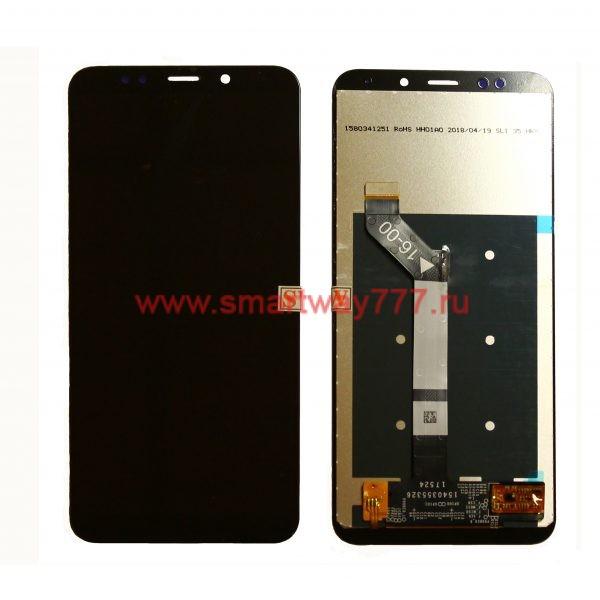 Дисплей для Xiaomi Redmi 5 Plus с тачскрином Черный