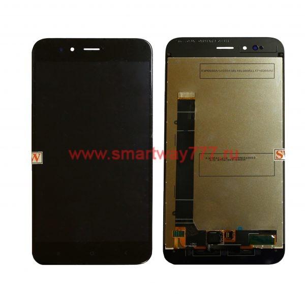 Дисплей для Xiaomi Mi A1 / Mi 5X с тачскрином Черный