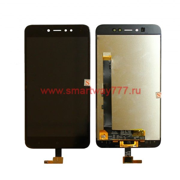 Дисплей для Xiaomi Redmi Note 5A с тачскрином Черный