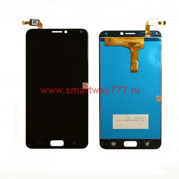 Дисплей Asus ZenFone 4 Max (ZC554KL) с тачскрином Черный