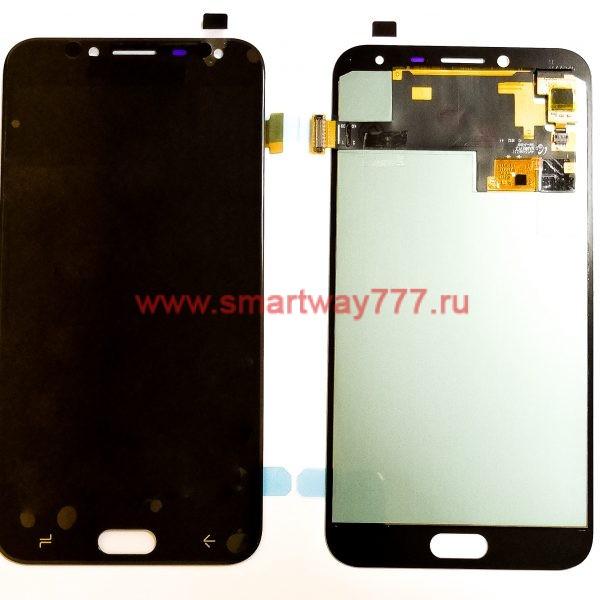 Дисплей для Samsung J4 2018 (J400F) с тачскрином OLED Черный