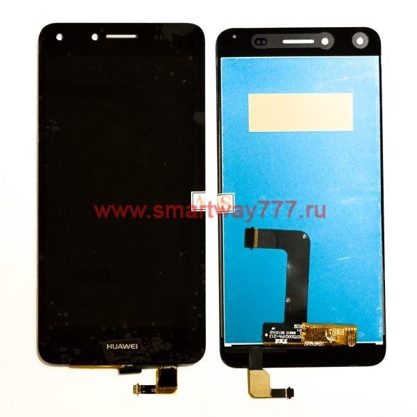 Дисплей для Huawei Y5 II / Honor 5A (CUN-U29) с тачскрином Черный