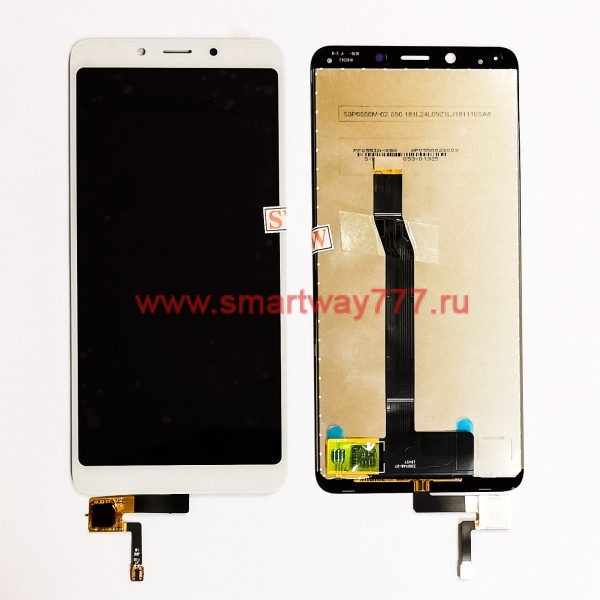 Дисплей для Xiaomi Redmi 6 / Xiaomi Redmi 6A с тачскрином Белый
