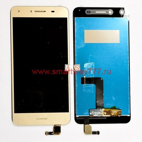 Дисплей для Huawei Y5 II / Honor 5A (CUN-U29, CUN-L21) с тачскрином Золотой