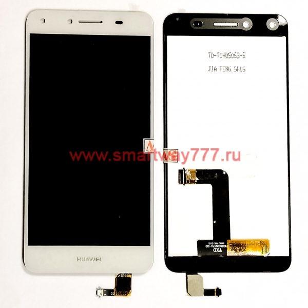 Дисплей для Huawei Y5 II / Honor 5A (CUN-U29, CUN-L21) с тачскрином Белый
