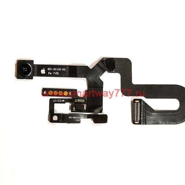 Камера для iPhone 8 Plus фронтальная на шлейфе / сенсор / микрофон