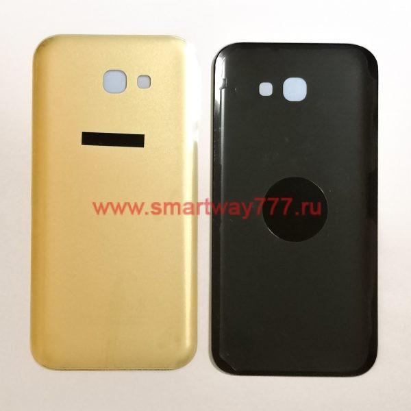 Задняя крышка для Samsung A7 2017 (A720F) Золото