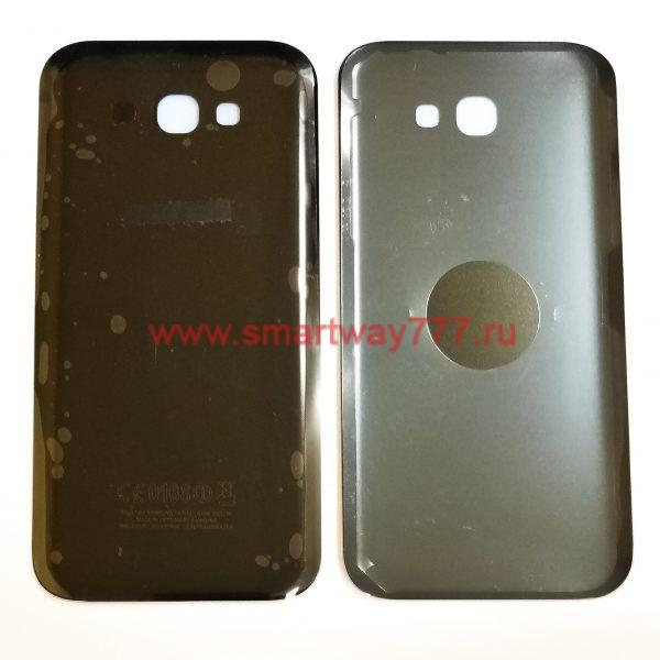 Задняя крышка для Samsung A7 2017 (A720F) Черная