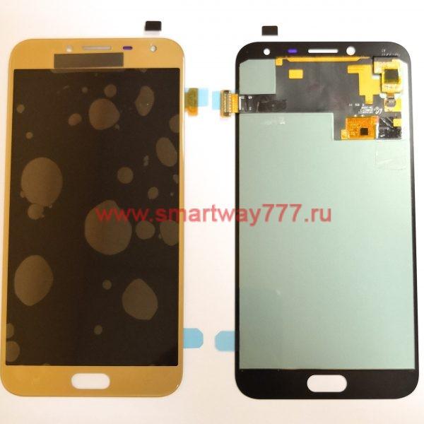 Дисплей для Samsung J4 2018 (J400F) с тачскрином Золото OLED