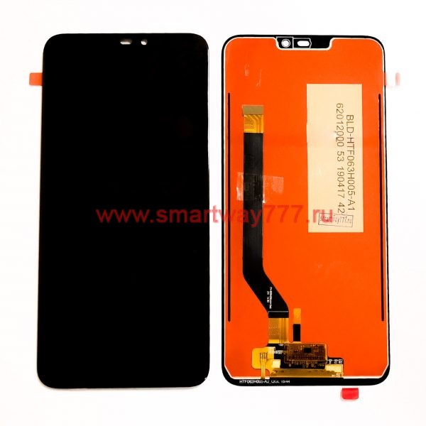 Дисплей для Huawei Honor 8C с тачскрином Черный