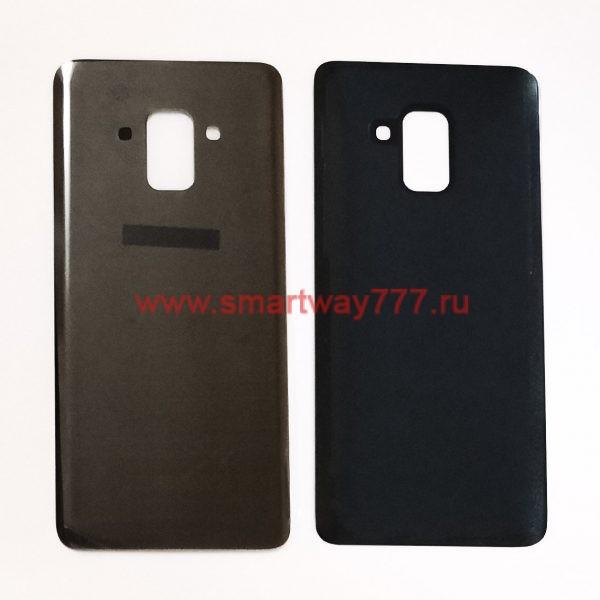 Задняя крышка для Samsung A8 2018 (A530F) Черный