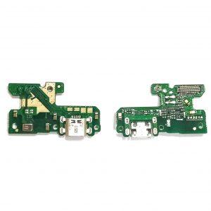 Шлейф для Huawei Honor 8 Lite на плате с разъемом зарядки / микрофон
