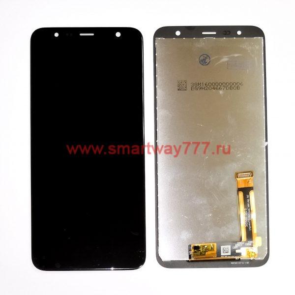 Дисплей для Samsung J4 Plus 2018 / J6 Plus 2018 ( J415 / J610 ) с тачскрином Черный. Оригинал